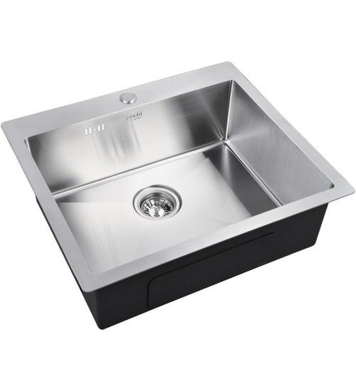 Кухонная мойка Zorg R 5951 Матовая сталь
