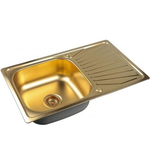 Кухонная мойка Zorg SZR 7848 Bronze
