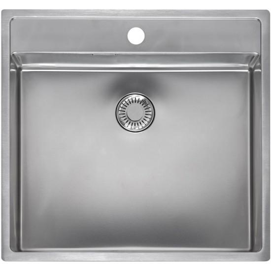 Кухонная мойка Reginox New York 50x40 L Lux Tapwing Матовая нержавеющая сталь