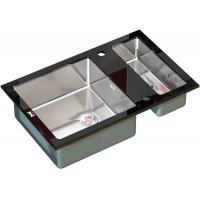 Кухонная мойка Zorg GL 8051-2 Black