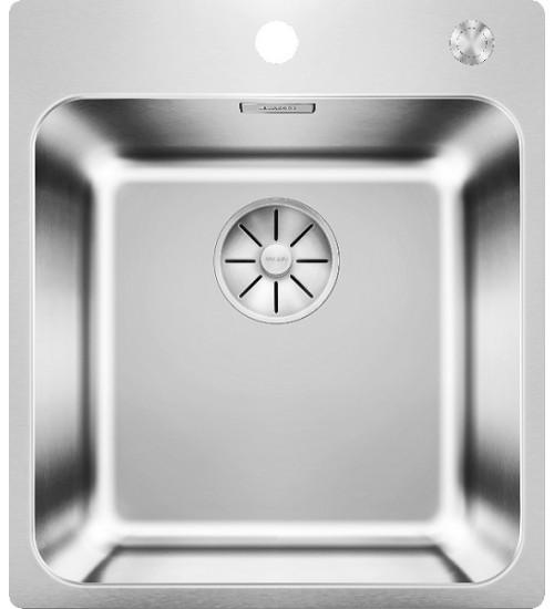 Кухонная мойка Blanco Solis 400-IF/A Нержавеющая сталь полированная