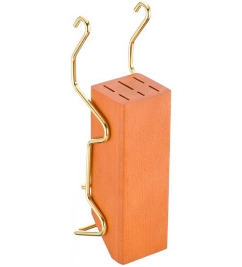 Держатель для ножей Lemi 31406 золото