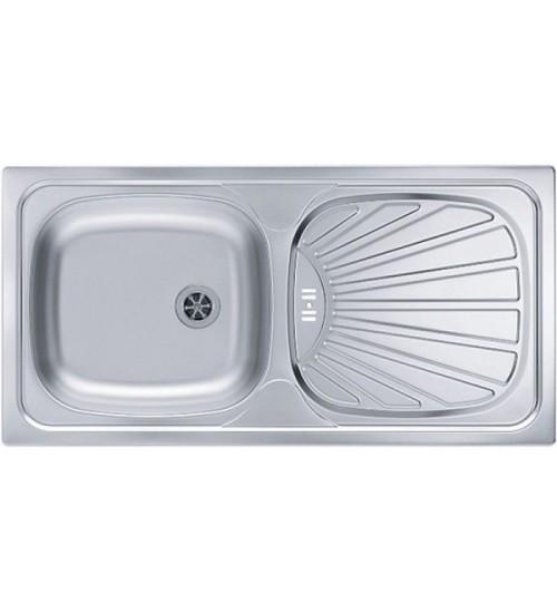Кухонная мойка Alveus Basic 80 Нержавеющая сталь декор 1008993