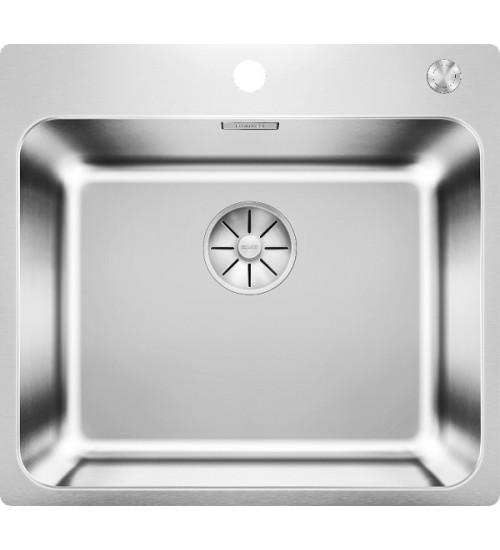 Кухонная мойка Blanco Solis 500-IF/A Нержавеющая сталь полированная