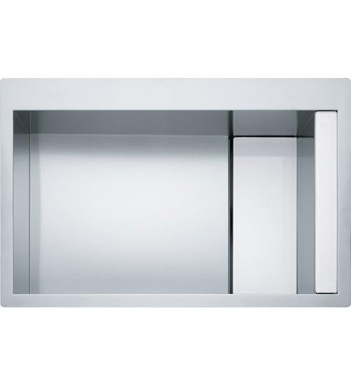 Кухонная мойка Franke Crystal CLV 210 Белое стекло