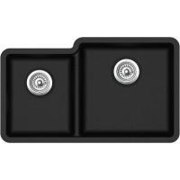 Кухонная мойка Aquasanita Arca SQA 230 R Black metallic