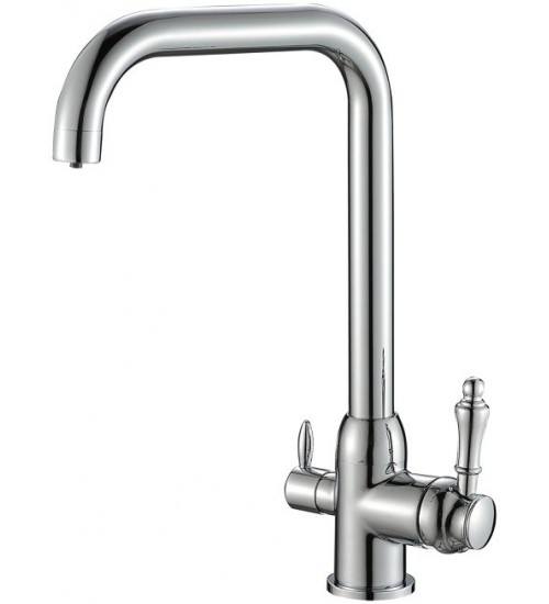 Кухонный смеситель Zorg Steel Hammer SH 725 Хром