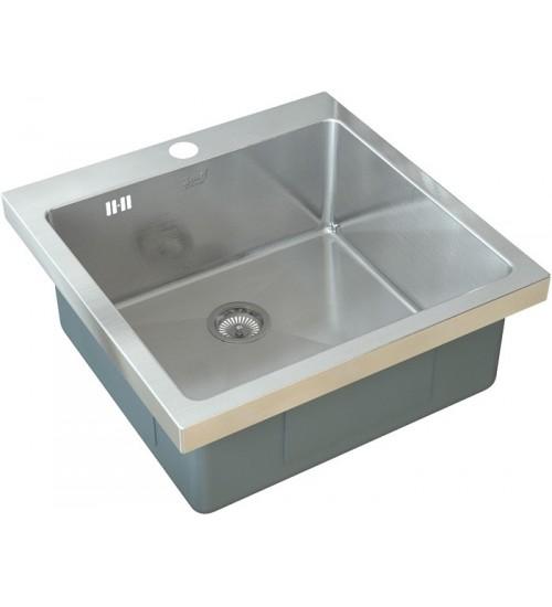Кухонная мойка Zorg HR 5151 HR Матовая сталь