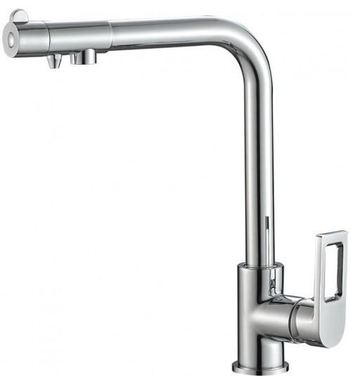 Кухонный смеситель Zorg Steel Hammer SH 572 Хром