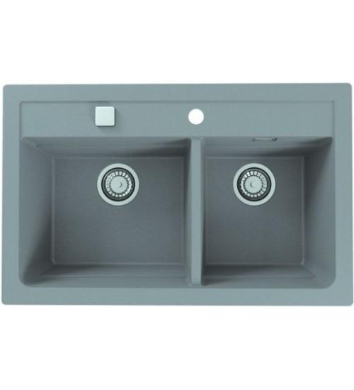 Кухонная мойка Alveus Atrox Granital 50 Concrete 1132001