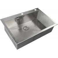 Кухонная мойка Zorg X 7551 Матовая сталь