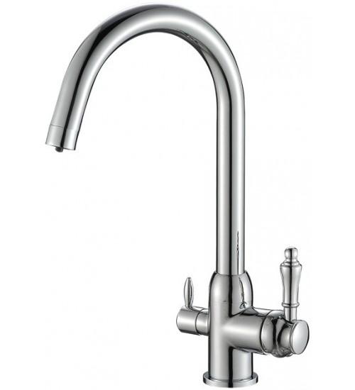 Кухонный смеситель Zorg Steel Hammer SH 723 Хром
