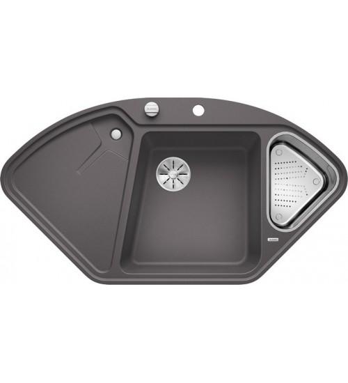 Кухонная мойка Blanco Delta II-F Темная скала