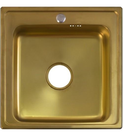 Кухонная мойка Seaman Eco Wien SWT-5050 Antique Gold (Micro-Satin *10)
