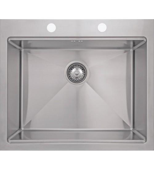 Кухонная мойка Seaman Eco Marino SMB-6152SK, вентиль-автомат, коландер SSA-A150