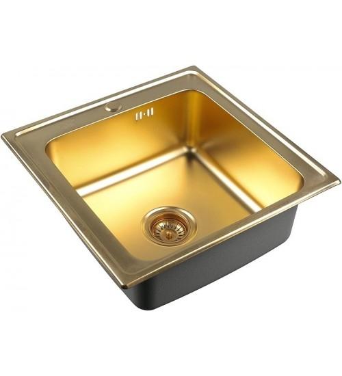 Кухонная мойка Zorg SZR 5050 Bronze