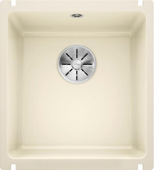 Кухонная мойка Blanco Subline 375-U Глянцевая магнолия (керамика)