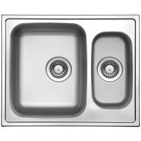Кухонная мойка Florentina Профи 615.500.1К Нержавеющая сталь декор