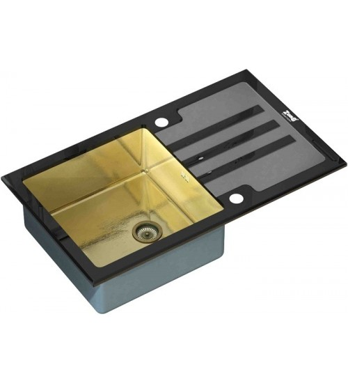 Кухонная мойка Zorg GL 7851 Black Bronze