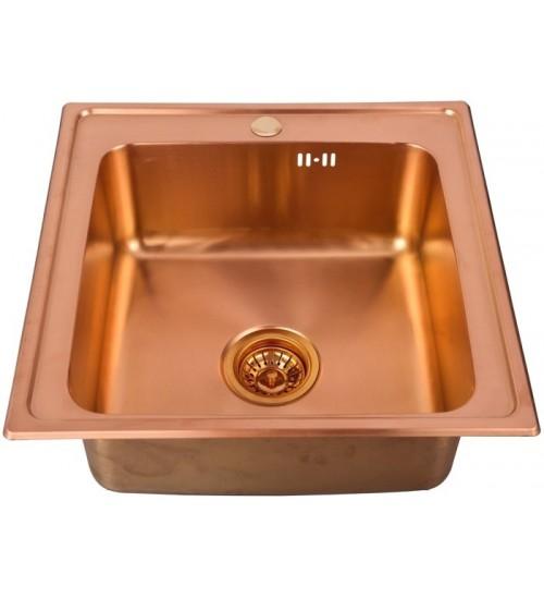 Кухонная мойка Seaman Eco Wien SWT-5050 Copper (Micro-Satin *10)