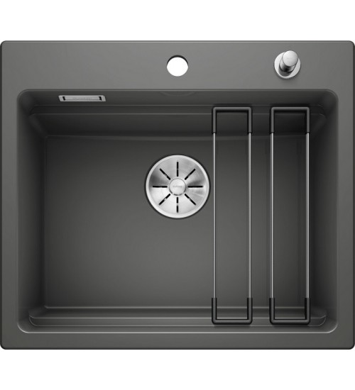 Кухонная мойка Blanco Etagon 6 Базальт (керамика)
