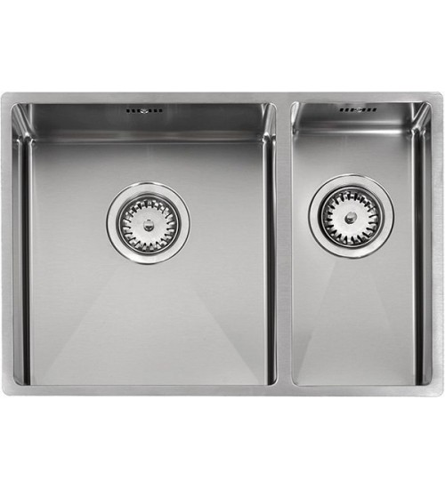 Кухонная мойка Reginox Florida 34x37+18x37 L Lux Полированная нержавеющая сталь