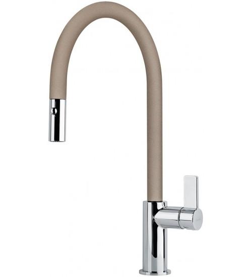 Кухонный смеситель Franke Ambient pull-out Миндаль (Выдвижной душ)