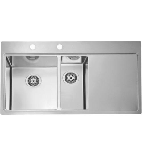 Кухонная мойка Alveus Pure 60 L Нержавеющая сталь 1103654