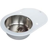 Кухонная мойка Zorg GL 7851 OV White