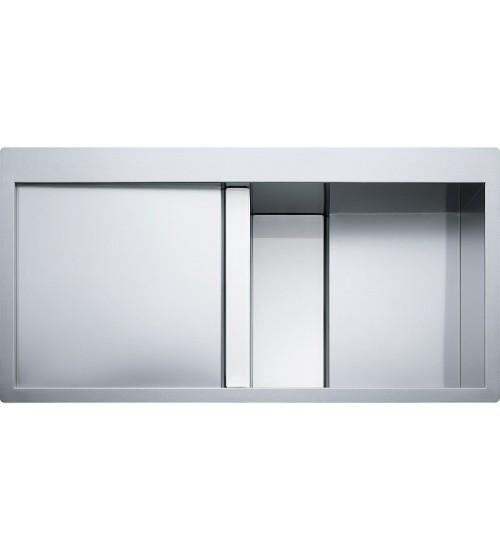 Кухонная мойка Franke Crystal CLV 214 R Белое стекло