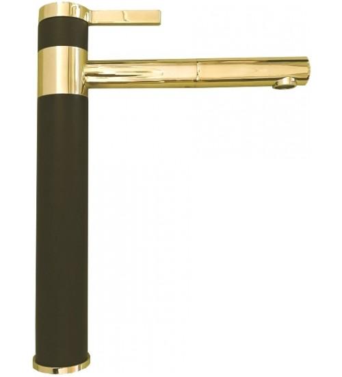 Кухонный смеситель Alveus Zina Monarch Black/Gold 1136509