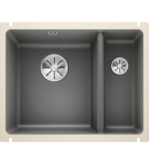 Кухонная мойка Blanco Subline 350/150-U Базальт (керамика)