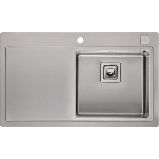 Кухонная мойка Reginox Phoenix 40 L Lux Right Полированная нержавеющая сталь