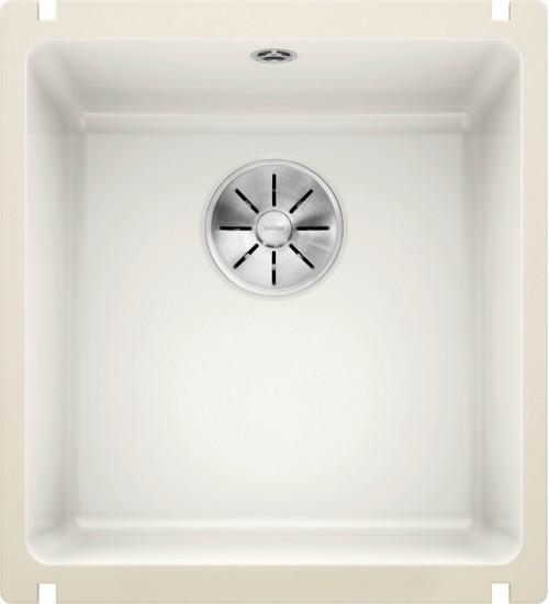 Кухонная мойка Blanco Subline 375-U Глянцевый белый (керамика)