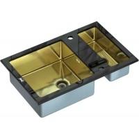 Кухонная мойка Zorg GL 8051-2 Black Bronze