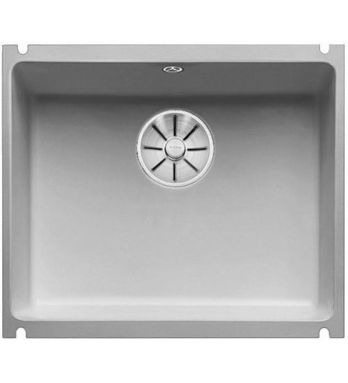 Кухонная мойка Blanco Subline 500-U Серый алюминий (керамика)