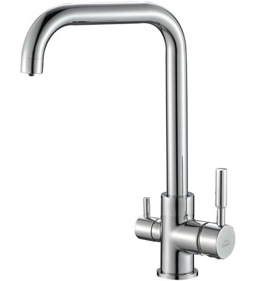 Кухонный смеситель Zorg Steel Hammer SH 715 Хром