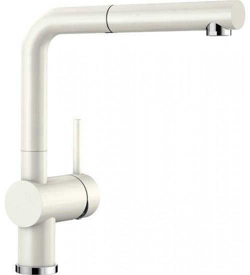 Кухонный смеситель Blanco Linus-S Глянцевый магнолия (керамика) 519750