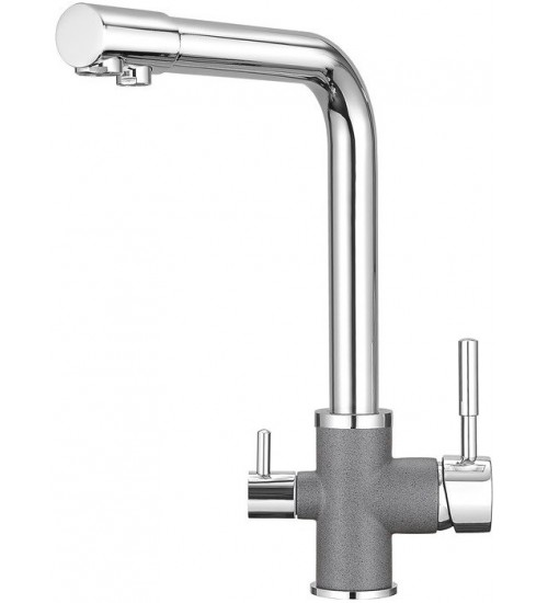 Кухонный смеситель Granula GR-3015 Графит