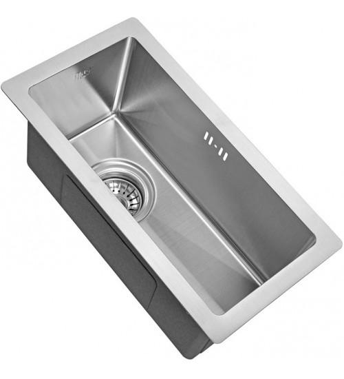Кухонная мойка Zorg R 2344 Матовая сталь