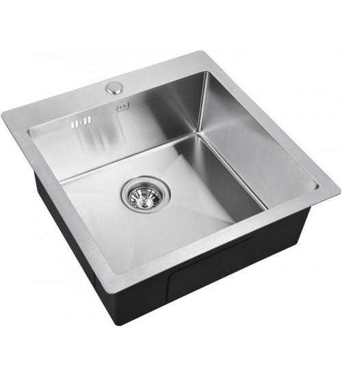 Кухонная мойка Zorg R 5151 Матовая сталь