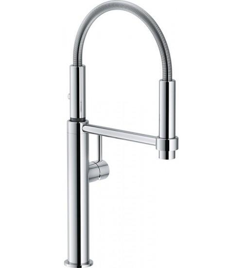 Кухонный смеситель Franke Pescara 360 Хром (Выдвижной душ)