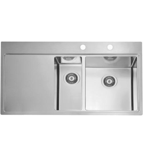 Кухонная мойка Alveus Pure 60 R Нержавеющая сталь 1103655