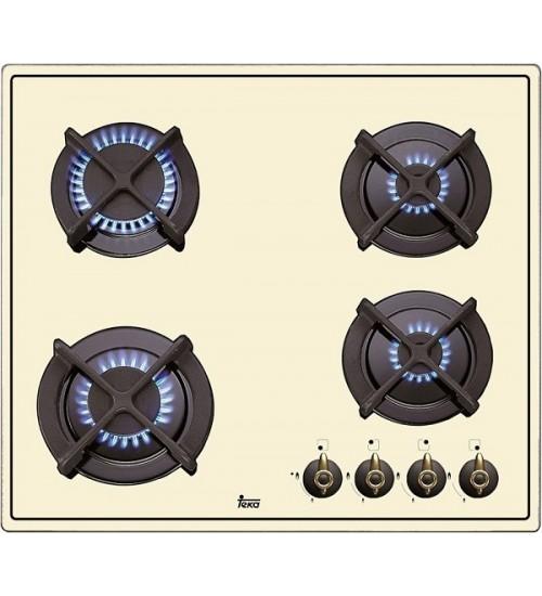 Встраиваемая газовая панель Teka WISH Total ER604G AI AL CI white cream
