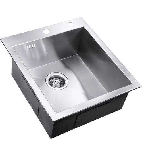Кухонная мойка Zorg X 4551 Матовая сталь