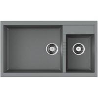 Кухонная мойка Omoikiri Tedori 86-2-LB GR-Серый