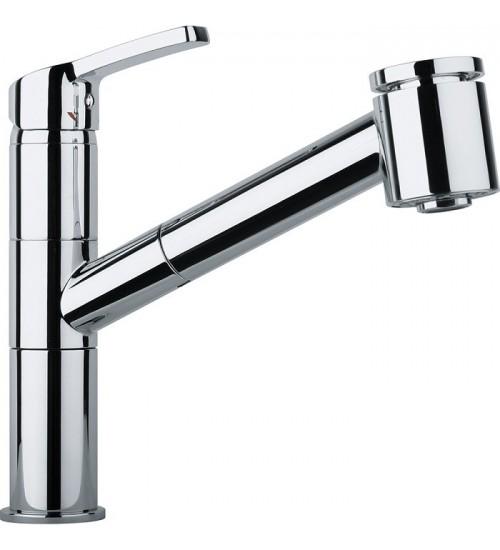 Кухонный смеситель Franke Rinsos Хром (Выдвижной душ)