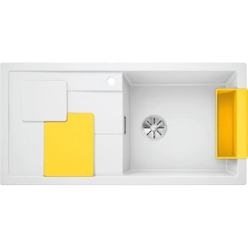 Мойка Blanco Sity XL 6 S Белый/Лимон
