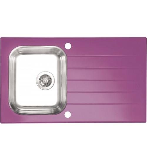 Мойка Alveus Glassix 10 Фиолетовый