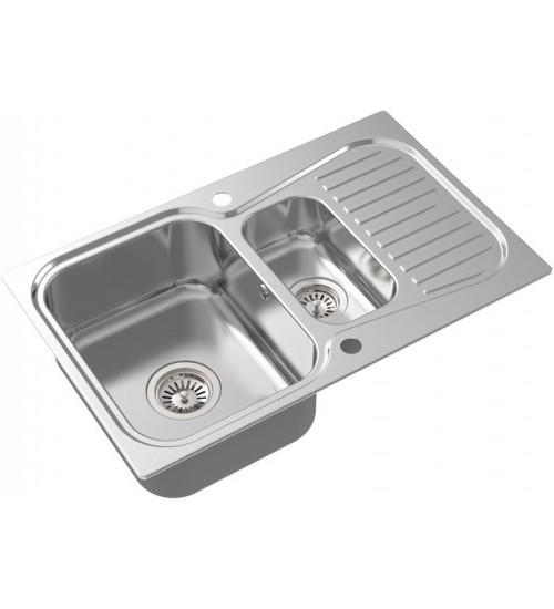 Кухонная мойка Oulin OL-359S Нержавеющая сталь